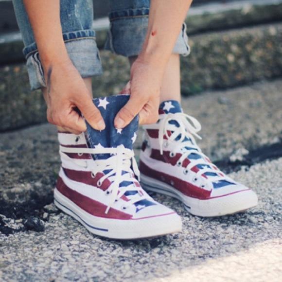 converse us flag